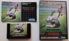 World Cup Italia 90 Sega Megadrive complet