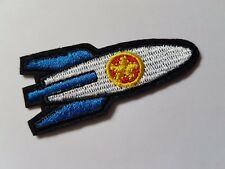 Small Rocket Ship space ship Iron On Patch Sew On Transfer badge fancy Dress
