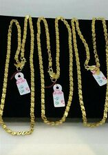 GoldNMore: 21K Gold  Necklace Chain 16 inches 9.3G (1pc)