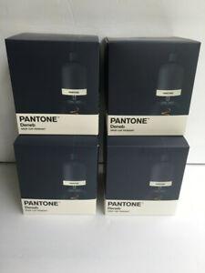 4 pack PANTONE Deneb Pendant Drop Cap Pendant Lights in Sargasso Sea (Navy Blue)