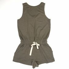 Aritzia Wilfred Free Size Izabel Romper Shorts One Piece Brown/Olive Green Small