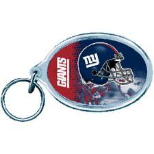 New York Giants Wincraft NFL Acrylic Helmet Oval Key Ring FREE SHIP!!