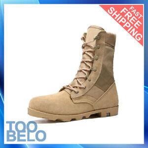Zapatos Para Trabajar Construcción de Hombre Militares Calzado Antideslizantes