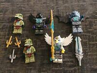 Lego Legends Of Chima Minifigure Bundle Lot Of 5 Figures