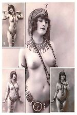Postcard Risque Nude Naked Lady Woman, Erotic Erotism, Reproduction Card VE468