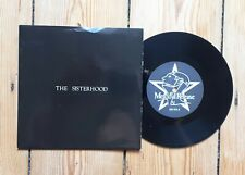 "The Sisterhood Giving Ground 7"" 2nd press Goth Sisters of Mercy James Ray"