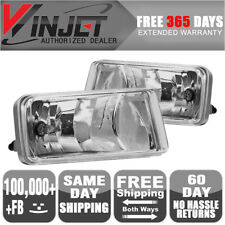 Fits 07-11 Suburban Avalanche Silverado (With Off Road Package) Fog Lights Clear