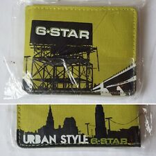g star urban style green wallet clear id card holder sd sim slots
