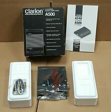Clarion A500 2-Channel Amplifier * NEW IN BOX with  Manual and Accessories *