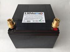 LITHIUMAX Black Series 620CCA Car or Boat Battery, LiFePo4, Lithium, Ultralight!