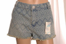 George Cotton Mid Rise Plus Size Shorts for Women
