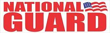 National Guard Bumper Sticker Decal Army Proud Wife Military Family Support aA