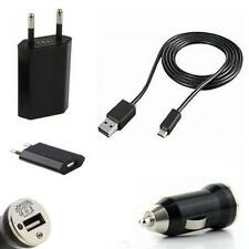 3in1 Set  Ladekabel Micro USB Auto KFZ Datenkabel für Samsung Galaxy ACE S5830