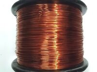 "Essex Magnet Wire, 12 AWG Gauge 0.0808"" 1 LB 50 ft' Enameled Copper Coil Winding"