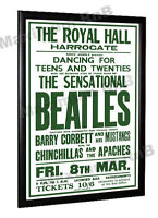 The Beatles Concert Poster Harrogate Yorkshire UK 1963
