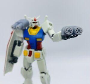 4pc. 3D Printed Twin Gatling Gun Detail Part Upgrade For MG, HG Gundam Model