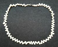 Fresh water pearl vintage Art Deco antique choker necklace