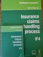 Insurance claims handling process IF4 2013-14 Study text and keyfacts
