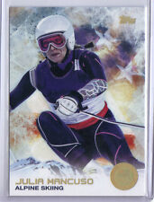 Julia Mancuso 2014 Topps Winter Olympics Golden Rainbow Foil #59 Alpine Skiing
