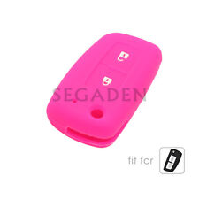 Silicone Case Cover fit for NISSAN Qashqai Juke Micra Remote Key Fob 2 Button RS