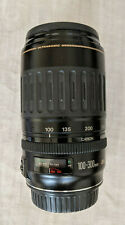 Canon Ultrasonic Zoom Lens EF 100-300mm 1:4.5-5.6, AF or Manual