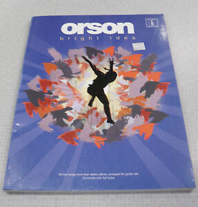 Orson Bright Idea Guitar Tab Book