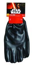 Star Wars Kylo Ren Adult Gloves Men Black Pleather Halloween Costume Accessory