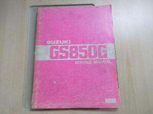 Suzuki GS 850 G KATANA Handbuch Wartungsanleitung Fahrerhandbuch SR-8200 E-01