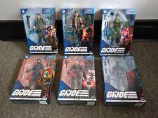 GI Joe Classified Flint, Lady Jaye, Destro, Snake Eyes 6 Figure Sealed Lot #1!!!