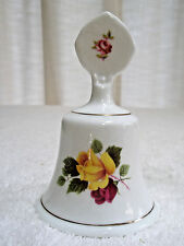Vintage Staffordshire Bone China Bell Roses Made in England