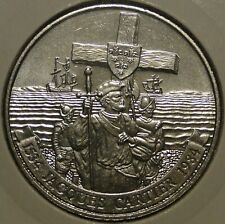 Canada 1534-1984 large dollar $1 Jacques Cartier nickel nice circulated