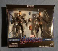 Marvel Legends Black Widow Hawkeye Quantum Suit 2-Pack Avengers Endgame
