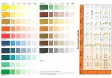 Baufan® Volltonfarbe 250 ml Abtönfarbe in 18 Farben An-Mischfarbe innen & aussen