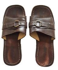DOLCE & GABBANA Men's VTG Handmade Leather Slide Sandals UK Sz 7/ US 8/ EU 41 M