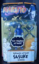 Naruto Sasuke Uchiha Shonen Jump's Tornado Attack Action Figure  2006 rare