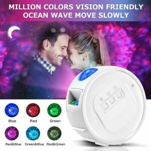 Galaxy Starry LED Night Light Projector Bluetooth Moon Star Sky Party Night Lamp