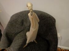 """Retired Lladro 1968 Early 4602 Doctor Medico, with Base, Gloss Finish, 16"""" T"""
