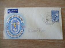 Australia 1956 Olympic fdc Netball Airmail envelope
