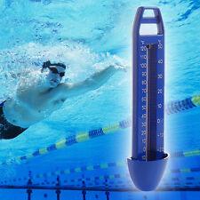 -20~120℉ & -30~50℃ Swimming Pool Spa Hot Tub Bath Temperature Thermometer Blue