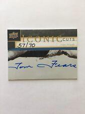 57/70 TOM FEARS RAMS HOF Cut Autograph 2009 UD Iconic Cuts RARE