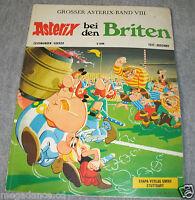 Asterix & Obelix Heft Comic bei den Briten Band VIII 8 -1971 Ehapa Verlag-Uderzo