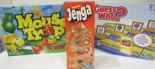 New Classic & Modern Board Games - Inc. Jenga + Monopoly + Guesswho? + Mousetrap