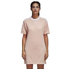 CE5589 adidas Dress – Trefoil Pink/white 2018 Women Polyester NUEVO 4 USA – 8 UK – S (small)
