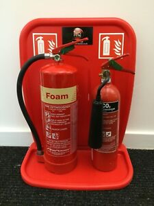 Double Rotationally Moulded Fire Extinguisher Stand