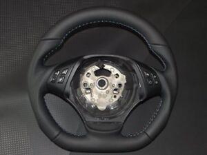 Steering Wheel BMW E90 Flat Bottom new leather