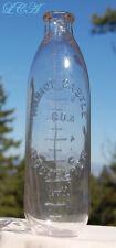 Antique WILMOT CASTLE Co ROCHESTER N Y baby nursing bottle SCARCE early BIM