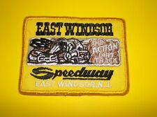 East Windsor Speedway The Action Dirt Track New Jersey Racing Patch