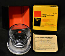 KODAK TELE-ARTON  90mm F/4 Lens 