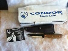 """Condor Tool & Knife Sapien Camp 4"""" El Salvador"""