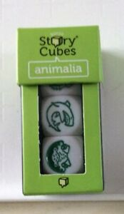 story cubes Animalia Birthday Christmas Gift Story Writing Dice